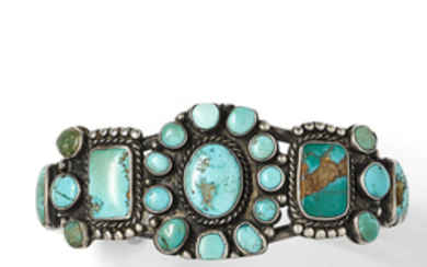 A Navajo bracelet and ring