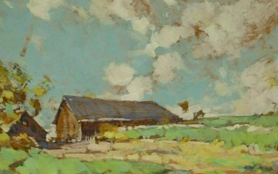 ROY BROWN (1879-1956) Listed Circa 1930's Spring New