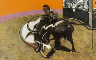 Sir Francis Bacon (1909-1992) (after) An exhibition poster for Grand Palais, October - January 1972