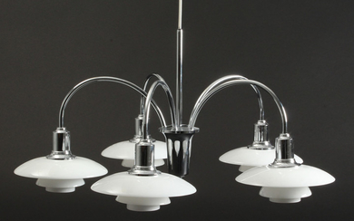 Poul Henningsen. PH 2/1 bombardment chandelier