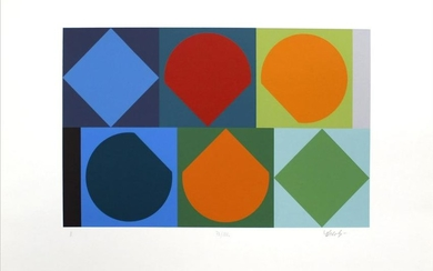 Victor Vasarely - Untitled II