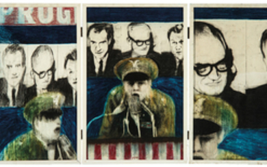 James Gill - James Gill: Untitled (Triptych)