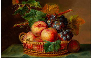 French School (19th Century), Still Life with Fruit (1849)