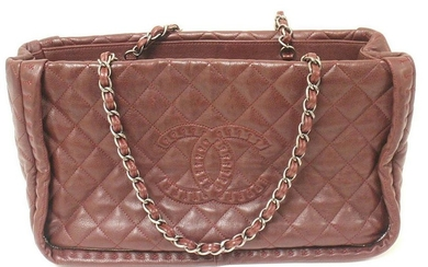 AUTHENTIC 2012 CHANEL ISTANBUL SOFT CAVIAR TOTE