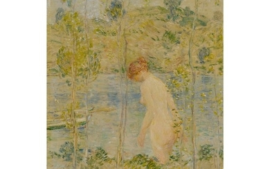 CHILDE HASSAM | JUNE DAY BATHER