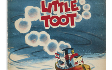(CHILDREN'S LITERATURE.) GRAMATKY, HARDIE. Little Toot. Illustrated...