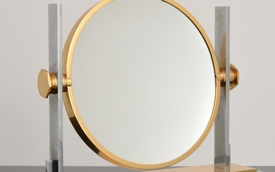 Large Karl Springer Vanity Mirror - Karl Springer; Karl Springer Ltd.