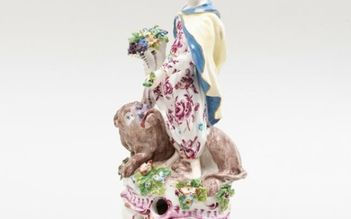 Large Bow Porcelain Figure of Ceres