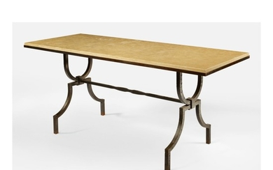 STYLE OF GILBERT POILLERAT   COFFEE TABLE