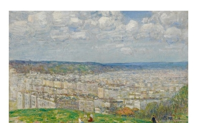 CHILDE HASSAM | TOP OF FORT GEORGE