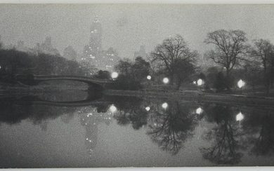 Esther Bubley Bow Bridge Central Park Photograph