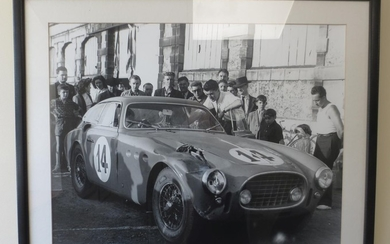 Twelve assorted motorsport prints, photographs and photoprints,