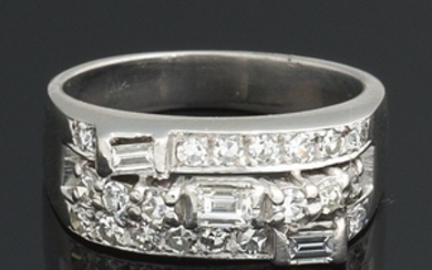 Ladies' Gold and Diamond Ring