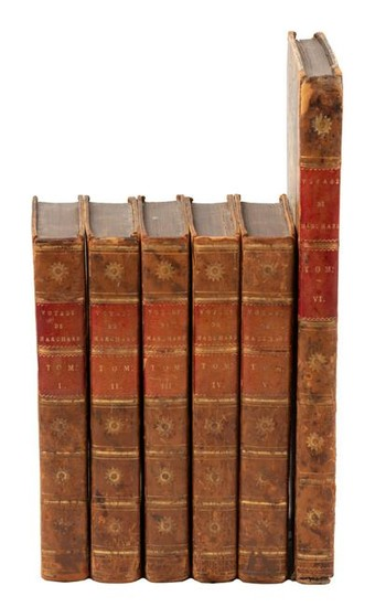 Important French circumnavigation 5 vols. + atlas