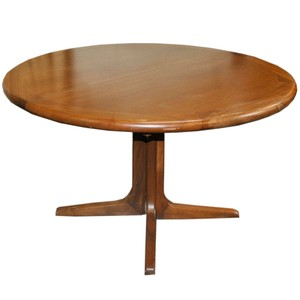 Lot Art Vintage Mid Century Modern Walnut Dining Table