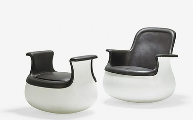 MARC HELD Culbuto Lounge chair and ottoman