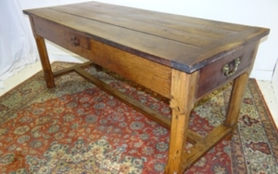 19TH C.PROVINCIAL FRENCH WALNUT TABLE
