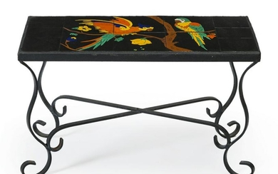 A Taylor six-tile topped table