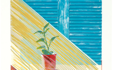 David Hockney - David Hockney: Sun (from Weather Series)