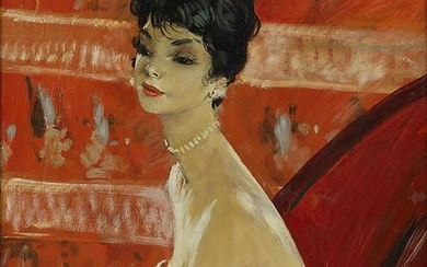 Jean-Gabriel Domergue 1889-1962 (French) La Repetition