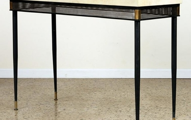 JEAN-MICHEL FRANK STYLE IRON CONSOLE TABLE