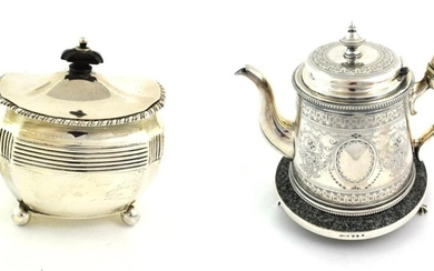A Victorian Scottish Silver Tea-Caddy, by Hamilton and Inches, Edinburgh,...