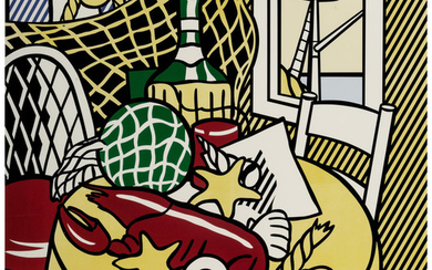 Roy Lichtenstein (1923-1997), Still Life with Lobster (1974)