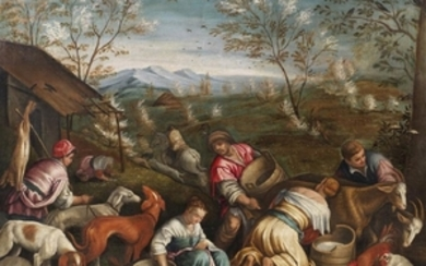 LEANDRO BASSANO Atelier of. The spring. .