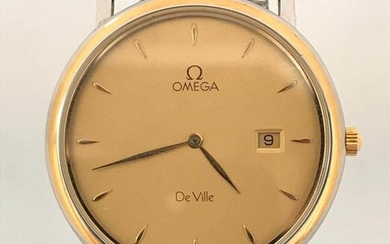 Omega - De Ville Gold-Steel - 196.2379 - Men - 1990-1999