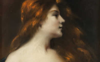 ATTRIBUTED TO JEAN-JACQUES HENNER (FRENCH 1829-1905)