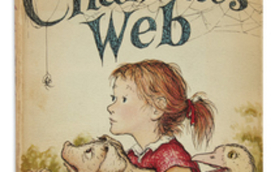 (CHILDREN'S LITERATURE.) WHITE, E.B. Charlotte's Web. Illustrations...