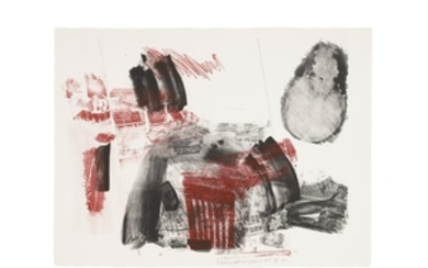 ROBERT RAUSCHENBERG (1925-2008), Test Stone 3, from Booster and Seven Studies