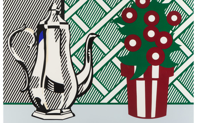 Roy Lichtenstein (1923-1997), Still Life with Pitcher and Flowers, from Six Still Lifes (1974)