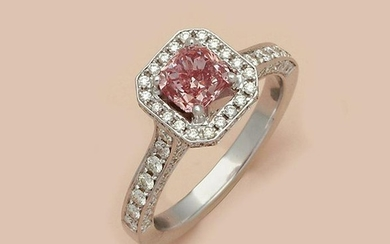 Fancy-Pink-Diamant-Solitärring