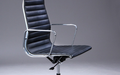 Charles Eames. Office chair, model EA-119 'Full Leather'