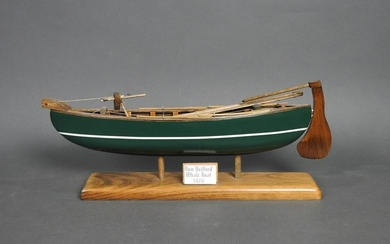 NEW BEDFORD WHALE BOAT ON STAND
