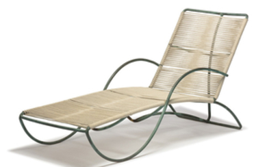 Walter Lamb - Walter Lamb: Chaise lounge and coffee table (2)
