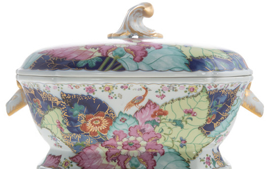 Mottahedeh Chinese Export Style Soup Tureen