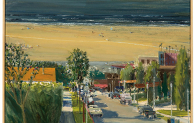 Larry Cohen - Larry Cohen: View of Santa Monica Beach