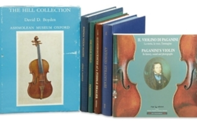 Six Books on Violins and Violin Makers - Laurie, David, The Reminiscences of a Fiddle Dealer; Pickering, Norman, The Violin World; Fairfield, John, Known Violin Makers;