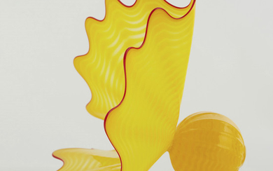 Dale Chihuly Yellow Persian