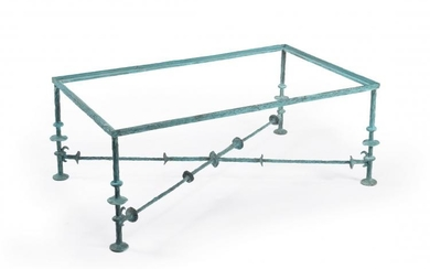 Diego Giacometti (manner of), a bronze table base