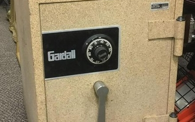 Gardell Floor Mounted Fire Insulated Safe
