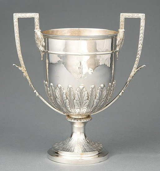 Victorian Sterling Silver Trophy Cup