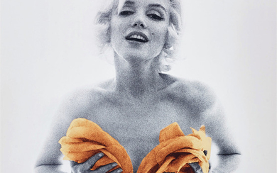 Bert Stern, Marilyn with Apricot Roses from The Last Sitting