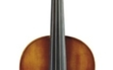 Modern German Viola - C. 1960, labeled MADE IN GERMANY, length of one-piece back 16 inches (40.6 cm).