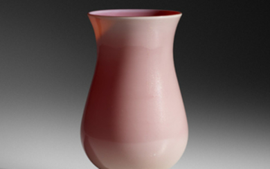 Tomaso Buzzi, Rare Laguna vase with foot, model 3580