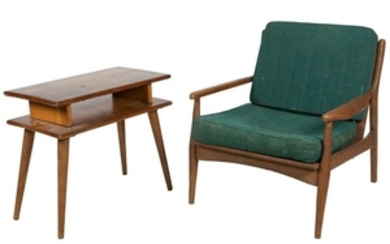 McCobb and Danish Style Lounge Chairs
