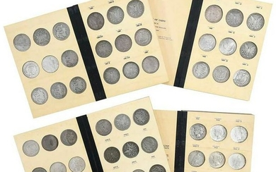 Silver Dollars in Library of Coins Albums
