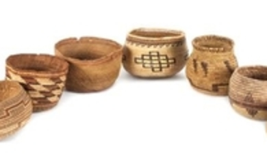 Group of Southwestern and California Baskets